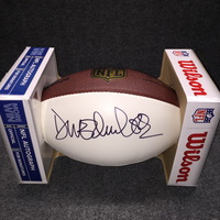 PCF - CHIEFS DONNIE EDWARDS SIGNED PANEL BALL