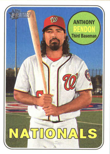 Photo of 2018 Topps Heritage #41 Anthony Rendon