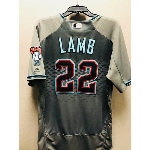 Photo of 2017 Game-Used NLDS Jake Lamb Jersey