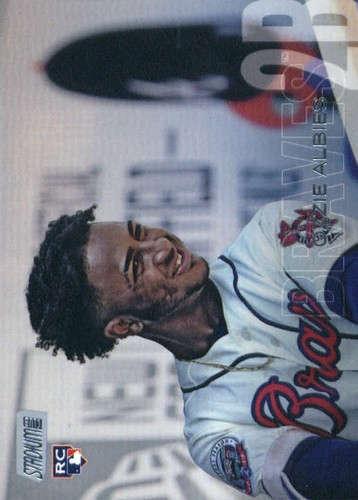 Photo of 2018 Stadium Club #110 Ozzie Albies RC