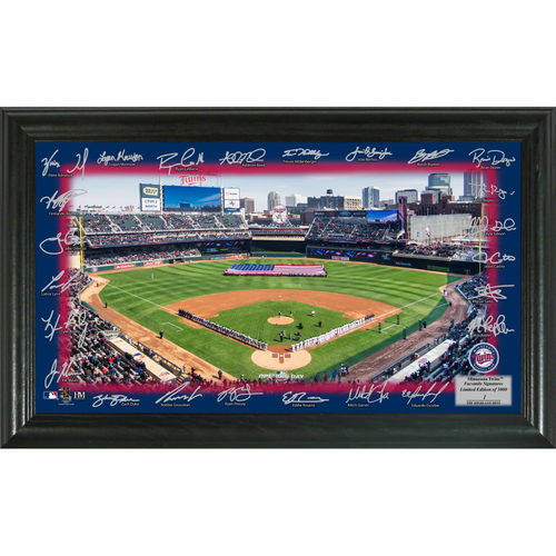 Photo of Serial #1! Minnesota Twins 2018 Signature Field
