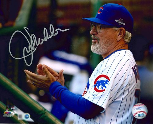 Photo of Joe Maddon Autographed Photo