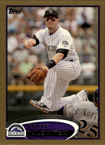 Photo of 2012 Topps Gold #140 Troy Tulowitzki