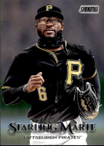 Photo of 2019 Stadium Club #212 Starling Marte