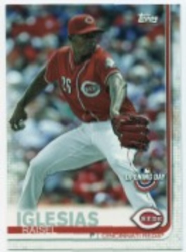 Photo of 2019 Topps Opening Day #27 Raisel Iglesias
