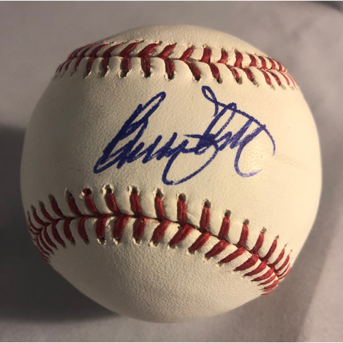 Photo of Billy Ashley Authentic Autographed Baseball