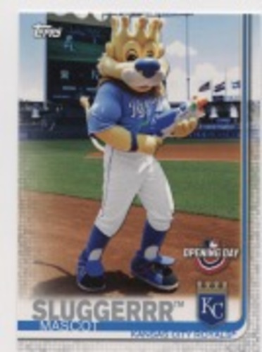 Photo of 2019 Topps Opening Day Mascots #M14 Sluggerrr