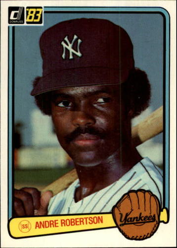 Photo of 1983 Donruss #387 Andre Robertson