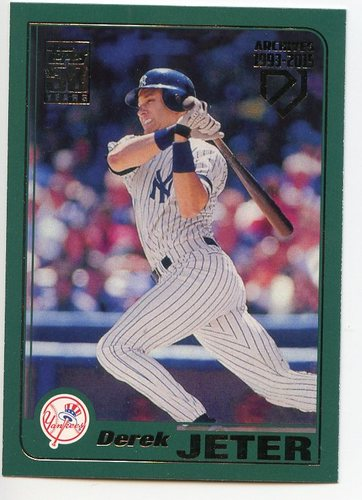 Photo of 2017 Topps Archives Derek Jeter Retrospective #DJ9 Derek Jeter/'01 Topps REPRINT