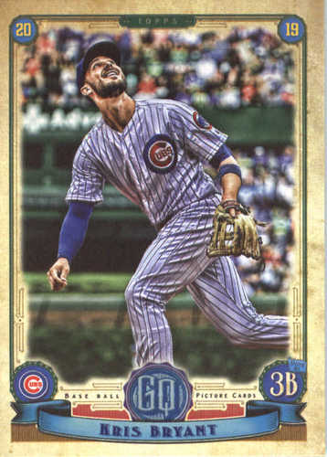 Photo of 2019 Topps Gypsy Queen #100 Kris Bryant