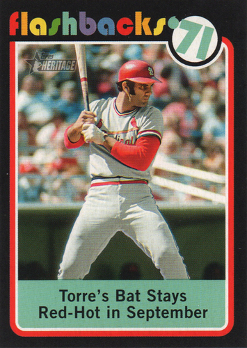 Photo of 2020 Topps Heritage Baseball Flashbacks #BF12 Joe Torre