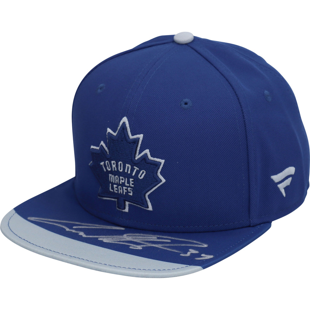 Auston Matthews Toronto Maple Leafs Autographed Reverse Retro Snapback Cap - #1 of a Limited Edition of 20