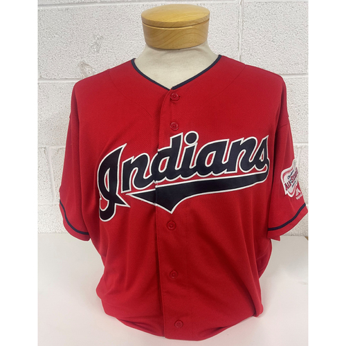 Photo of Game- Used Jersey - Franmil Reyes #32 Alt Home - 9/15/2019 Twins at Indians