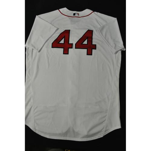 Photo of Hank Aaron Chasing the Dream Foundation: Matt Barnes 2021 MLB All-Star Workout Day BP-Worn # 44 Jersey