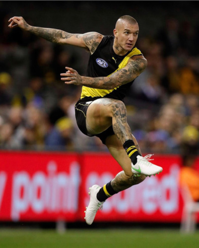 Photo of Our Guernsey - Signed by Dustin Martin