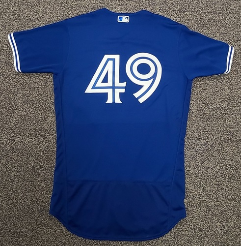 Photo of Authenticated Team Issued Spring Training Jersey: #49 (2021 Season). Size 42.