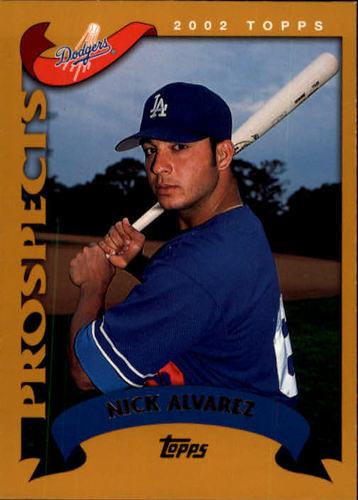 Photo of 2002 Topps #681 Nick Alvarez PROS RC