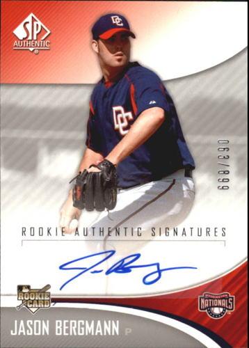 Photo of 2006 SP Authentic #223 Jason Bergmann AU/899 (RC)