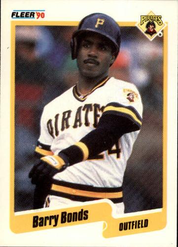 Photo of 1990 Fleer #461 Barry Bonds