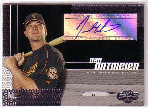 Photo of 2006 Topps Co-Signers #110 Dan Ortmeier AU G (RC)