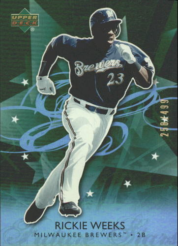 Photo of 2006 Upper Deck Future Stars Green #38 Rickie Weeks /499