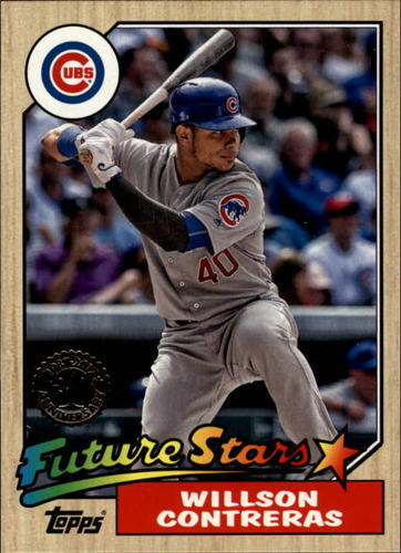 Photo of 2017 Topps '87 Topps #8725 Willson Contreras