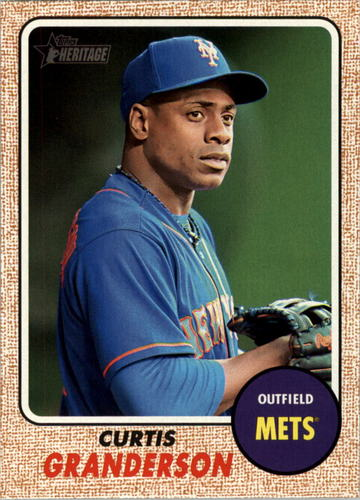 Photo of 2017 Topps Heritage #342 Curtis Granderson