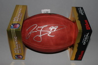 HOF - DOLPHINS JASON TAYLOR SIGNED AUTHENTIC FOOTBALL
