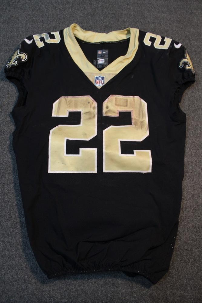 NFL Auction | Sport Relief - Saints Mark Ingram game worn Saints ...