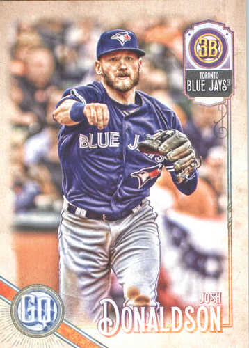 Photo of 2018 Topps Gypsy Queen #148 Josh Donaldson