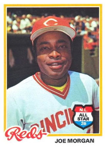 Photo of 1978 Topps #300 Joe Morgan -- Hall of Fame Class of 1990