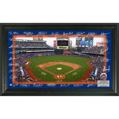 Photo of Serial #1! New York Mets 2018 Signature Field