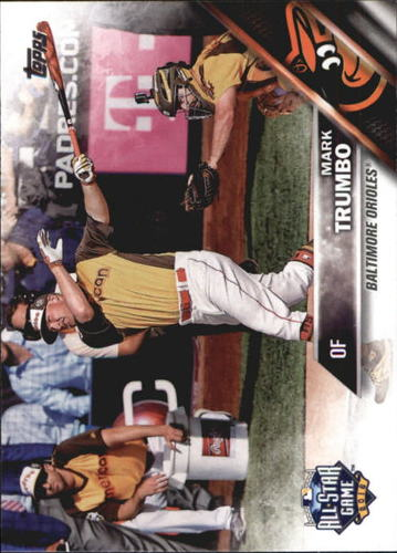 Photo of 2016 Topps Update #US191 Mark Trumbo AS
