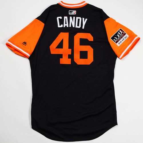 "Photo of Jeimer ""Candy"" Candelario Detroit Tigers Game-Used 2018 Players' Weekend Jersey"
