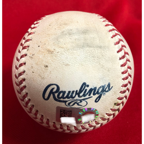 Photo of Joey Votto Establishes Reds Franchise Record Intentional Walk Baseball -- Game Used -- 07/27/2018 -- PHI vs. CIN -- Joey Votto sets Reds' Franchise Record with 136th Career Intentional Walk