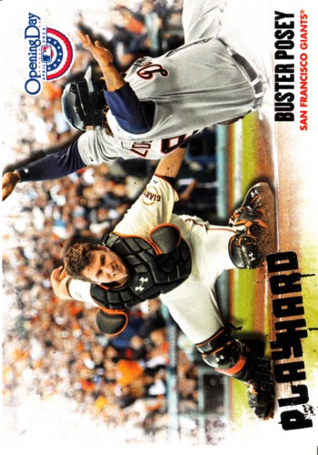 Photo of 2013 Topps Opening Day Play Hard #PH1 Buster Posey