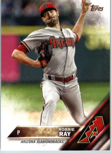 Photo of 2016 Topps #445 Robbie Ray