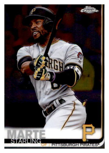 Photo of 2019 Topps Chrome #18 Starling Marte