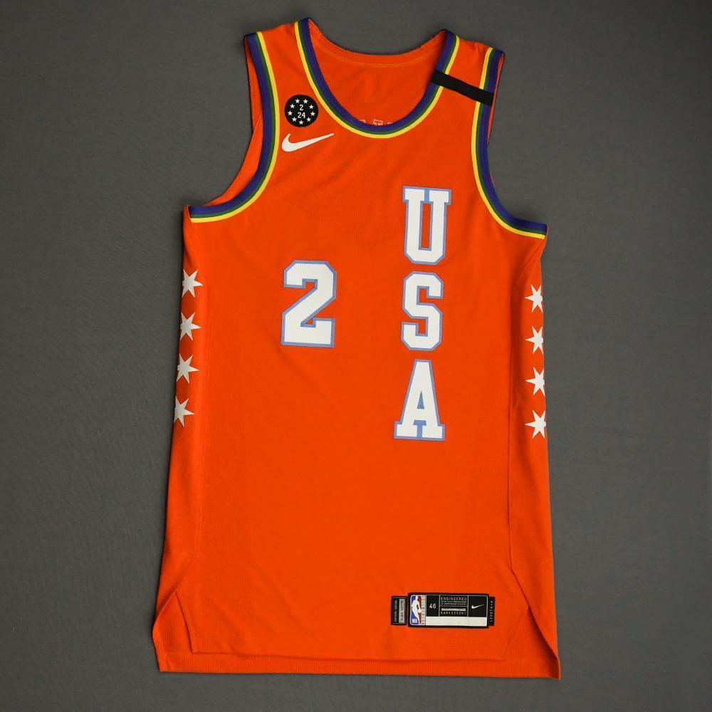 Collin Sexton - 2020 NBA Rising Stars - Team USA - Game-Worn 1st Half Jersey