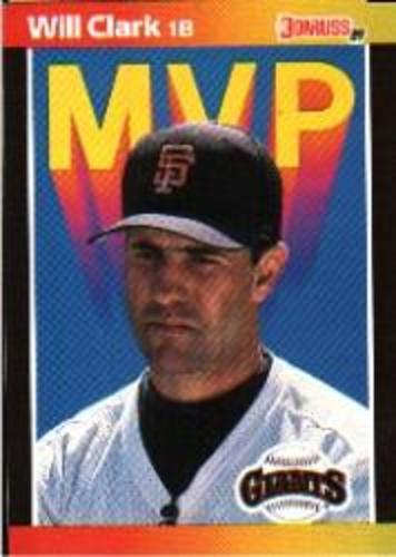Photo of 1989 Donruss Bonus MVP's #BC22 Will Clark DP