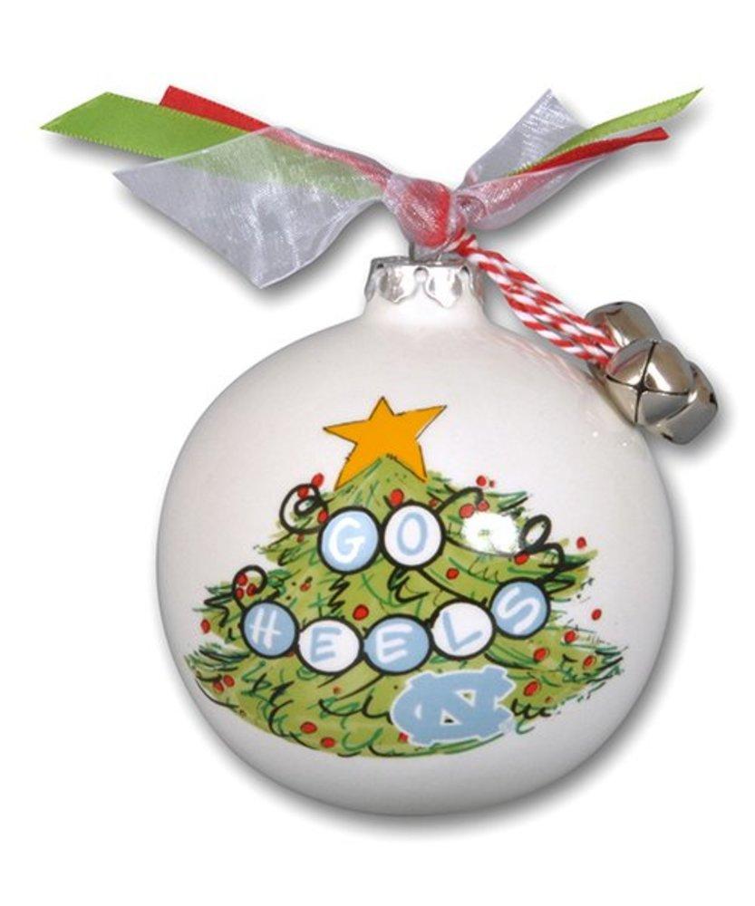 Photo of Magnolia Lane North Carolina Tar Heels Christmas Tree Ornament