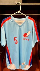 Photo of Jacksonville Expos Fauxback Jersey #5 Brian Miller Size 44