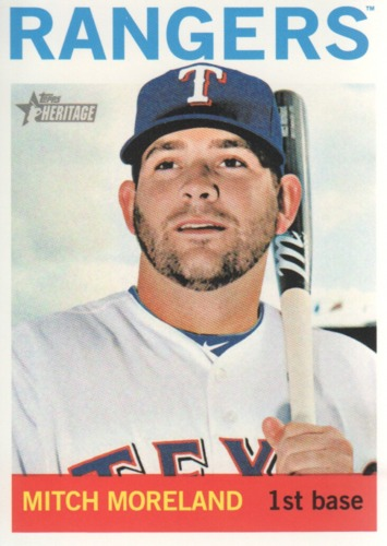 Photo of 2013 Topps Heritage #295 Mitch Moreland