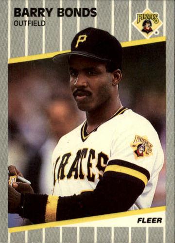 Photo of 1989 Fleer #202 Barry Bonds