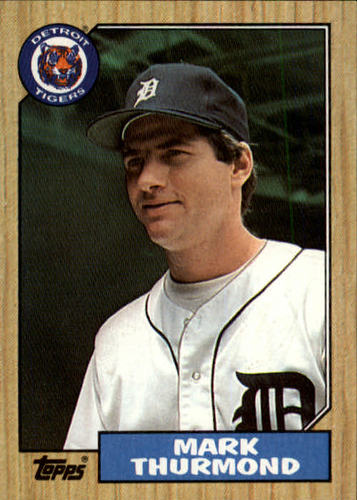Photo of 1987 Topps #361 Mark Thurmond