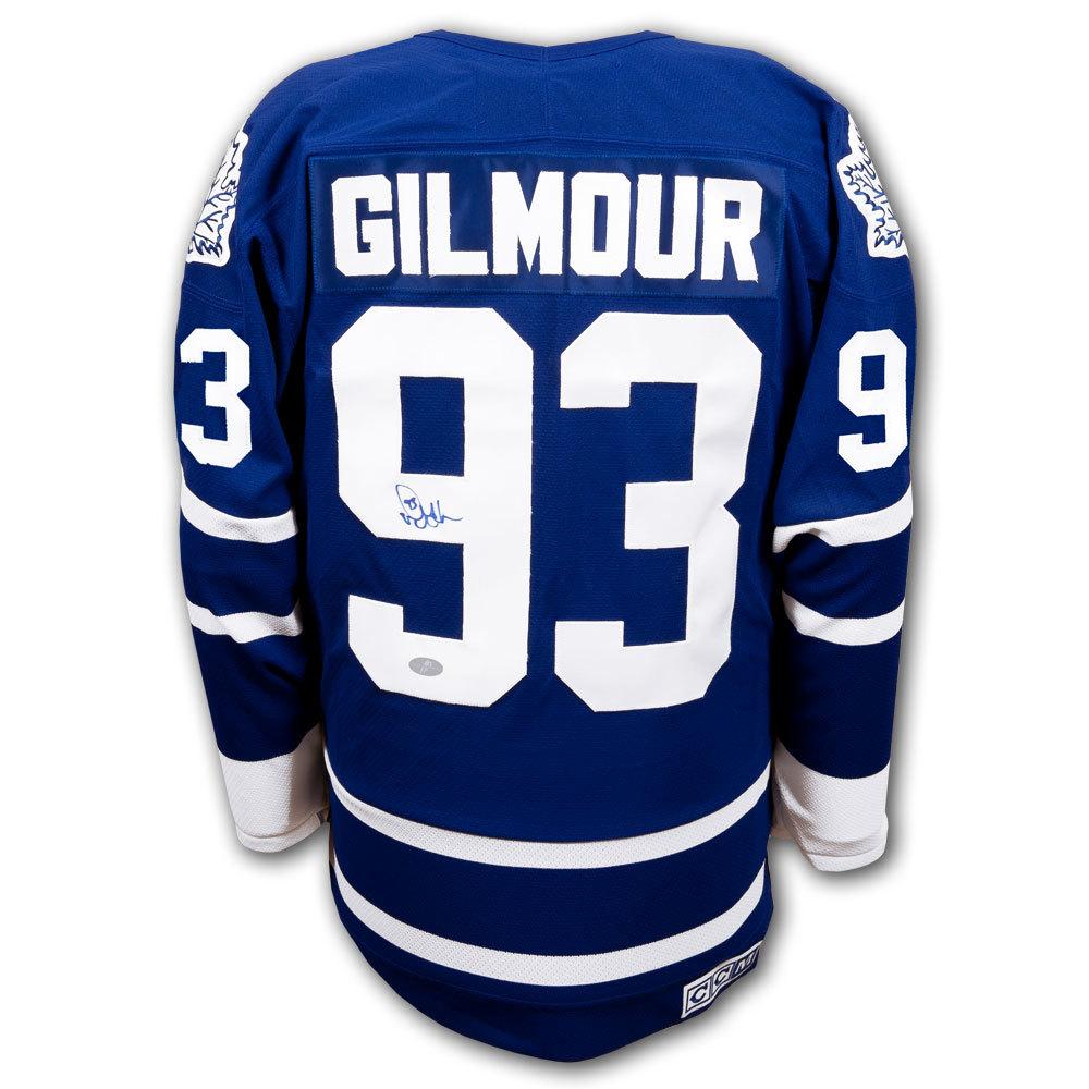 Doug Gilmour Toronto Maple Leafs CAPTAINS CCM Autographed Jersey