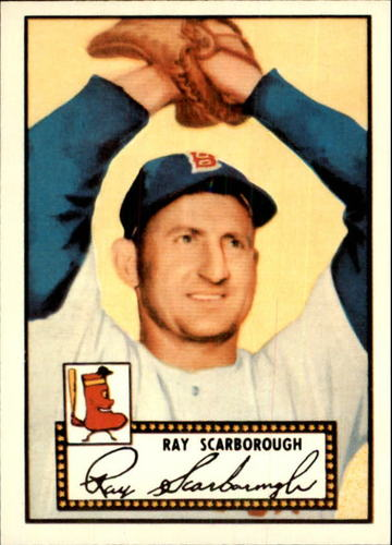 Photo of 1983 Topps 1952 Reprint #43 Ray Scarborough