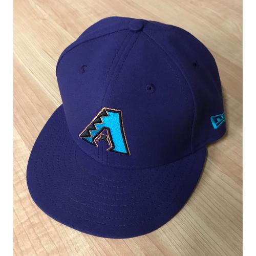 Fernando Rodney Game-Used 2017 Throwback Cap