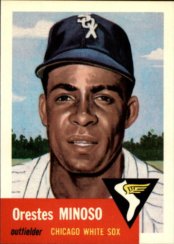 Photo of 1991 Topps Archives 1953 #66 Minnie Minoso