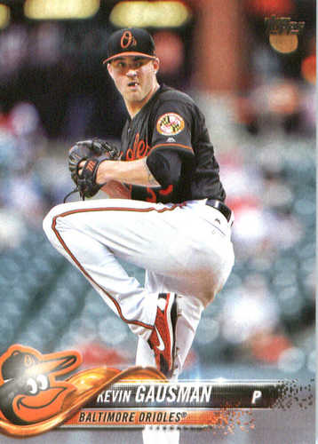 Photo of 2018 Topps #343 Kevin Gausman